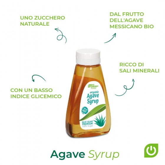 Organic agave syrup  (350g)