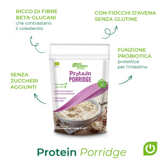 Organic protein porridge -...