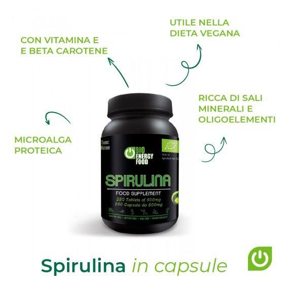 Organic spirulina (125g)