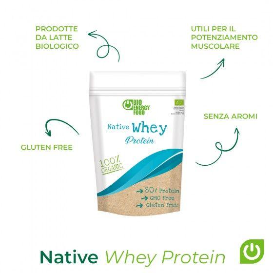 Organic Native whey protein...