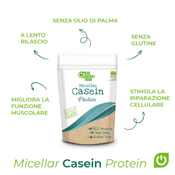 Organic micellar casein (500g)