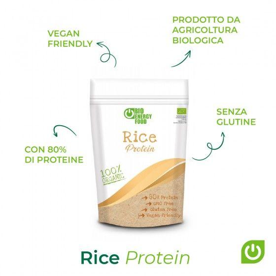 Organic rice protein (500g)