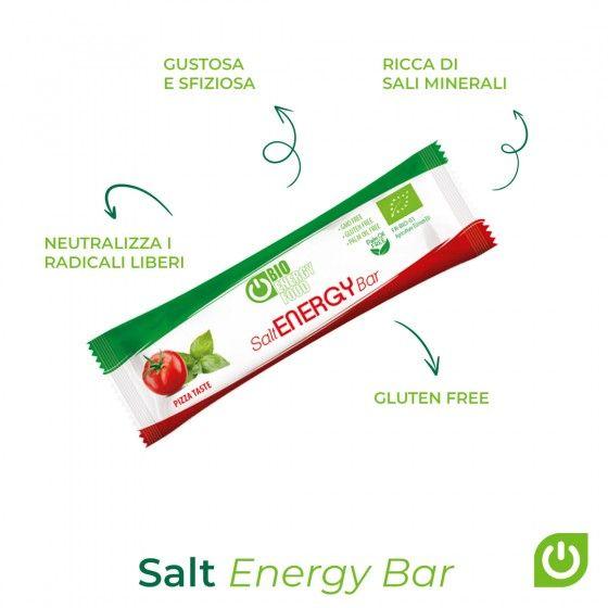 Organic pizza energy bar (35g)