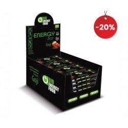 20 Organic energy goji bar...